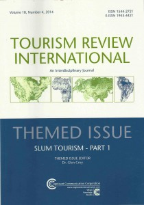 slum tourism special issue